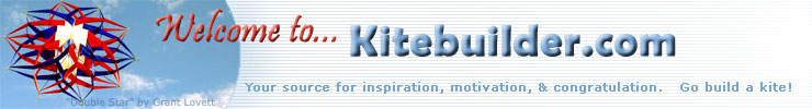 Welcome to Kite Studio and Kitebuilder.com.  Build a Kite!